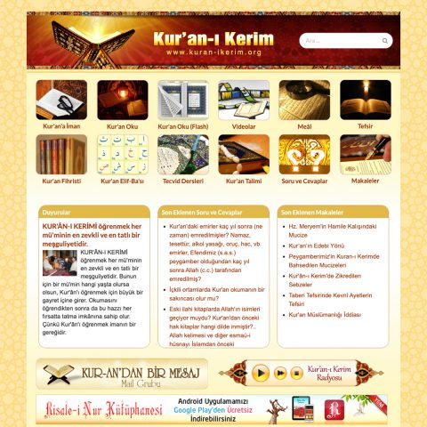 Kuran-ı Kerim.org