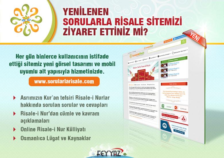 Sorularlarisale.com sitemiz YENİLENDİ!